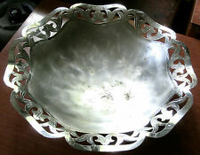 WMF IKORA GERMANY SILVERPLATE TRI-FOOTED DECOR BOWL