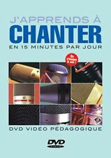 LAIGLE J'APPRENDS A CHANTER EN 15 MINUTES PAR JOUR VOICE  MUSIQUE DVD FRENCH