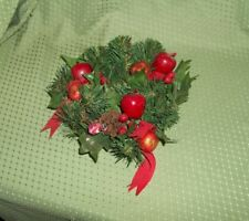 Christmas Wreath Candle Ring  Holder