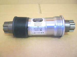 New-Old-Stock Shimano Deore Octalink (BB-ES30) Bottom Bracket (73x118 mm)