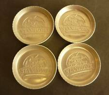 * 4 Vintage Aluminum Stanhome Stanley Homes Coasters