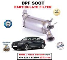 DPF Diesel fuliggine Filtro del Particolato per BMW 3 GRAN TURISMO F34 318 320 D 2013 - > su