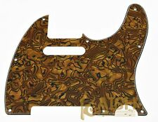 Tele/Telecaster Style Scratch Plate Guitar Pickguard Tiger Pattern 3 Ply