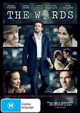 THE WORDS - BRADLEY COOPER / JEREMY IRONS..REG 4..NEW & SEALED   D3506