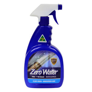 ZERO WATER WINDSCREEN GLASS CLEANER SHINE WATERLESS SPRAY FOR CARS