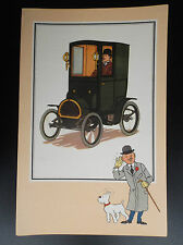 Chromos Tintin Voir et Savoir Automobile origines à 1900 Série 3 N° 57