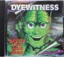 Dyewitness Battle For Your Mind CD Australia 1995  Central Station