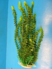 """PLASTIC PLANT 925432Y AQUARIUM 18"""" H x 7"""" W HEAVY BASE FRESH / SALTWATER"""