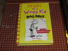 DIARY of A WIMPY KID - DOG DAYS Jeff Kinney HC 2009 Amulet Books - Illustrated