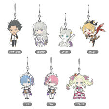 Nendoroid Plus Re: ZERO Starting Life in Another World Collectible Rubber Straps
