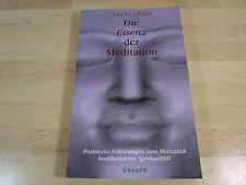 Dalai Lama: Die Essenz der Meditation / Sonderausgabe / Taschenbuch