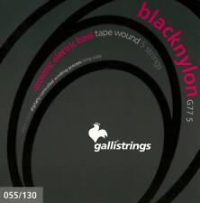 GALLI G77-5 BASS  STRINGS Set 5 corde Black Nylon 055-130 basso elettro acustico