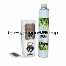 AirBomz CO2 Dispenser Kit Timed Can Light Yield Hydroponics