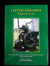 Lister Engines - Types H to R from 1909 to the 1940's