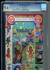 Superman Family #210 CGC 9.6 (1981) Supergirl White Pages Only 3 Higher @ 9.8