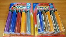 Lot of (10) BIC Lighters - Assorted Colors (Sealed)