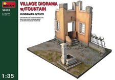 MINIART VILLAGE DIORAMA WITH FONTAINE 1:35 cod.36028