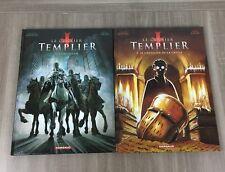 Le Dernier Templier Lot 2 BD Tome 1 et 2