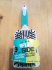 Scunci The FlipSide 2 in 1 Paddle Brush.Detangle and Shine