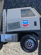 Vintage 1978 TONKA CHEVRON Delivery Semi Truck & Trailer