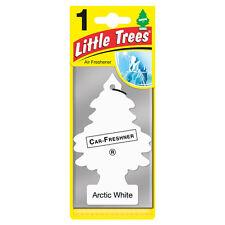 Magic Tree Little Trees Car Home Air Freshener Freshner Scent - ARCTIC WHITE