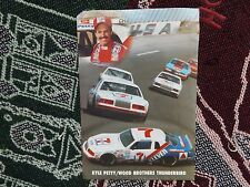 "9"" x 6"" NASCAR DRIVER CARD - #7 KYLE PETTY - 7 ELEVEN FORD WOOD BROTHERS 1985"