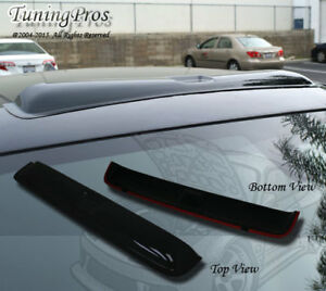 Rain Guard Sunroof Moon Visor 880mm Type2 Dark Smoke For 88-91 Honda CR-X Coupe