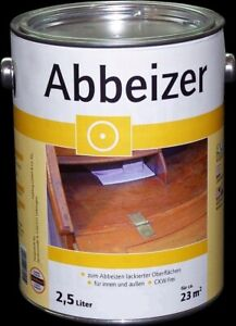 2,5 Liter Holz Abbeizer Farb Lackentferner für Holz innen und außen CKW-frei