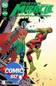 MISTER MIRACLE SOURCE OF FREEDOM #2 (2021) 1ST PRINTING PAQUETTE MAIN COVER DC