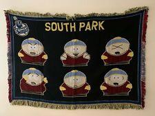 Rare Vintage South Park Cartman Blanket Throw