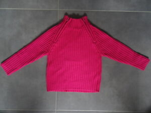 Pull rose manches longues Taille 5 ans LG