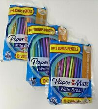 3x Papermate Write Bros Mechanical Pencils 12 Packs 36 Total 07mm Hb 2 New