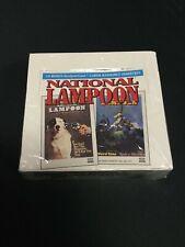 1993 NATIONAL LAMPOON trading Card SEALED BOX