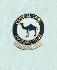 More details for cammell laird fc (birkenhead, nr liverpool) enamel football club crest pin badge