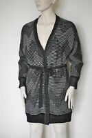 MAX MARA,  Belted Wool & Cashemere Cardigan, Size L