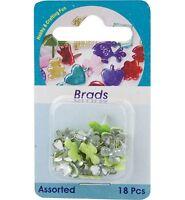 Brads Kleeklammern 10 mm 18St Scrapbooking Klee Scrapbooking Embellishments 5809