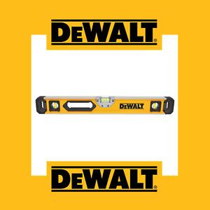 "DeWalt DWHT43224 24"" (600mm) Box Beam Spirit Level"