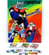 Mazinger Z Complete Trading Cards Album Ultra Figus Tranzor Robot Argentina