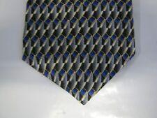 Contissima BOYS SILK Tie Necktie 49 x 3 blue gray 14219