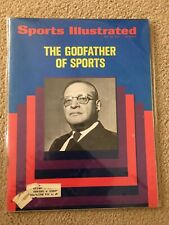 FM6-44 Sports Illustrated Magazine 5-29-1972 GODFATHER OF SPORTS