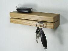 Schlüsselhalter Schlüsselbrett Schlüsselleiste Schlüssel Eiche Holz Ablage