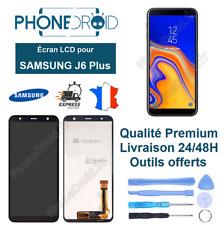 Écran complet LCD + Tactile Samsung J6 Plus Noir + Outils, stock FR
