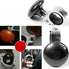 Auto Car Truck Lorry Power Steering Wheel Ball Spinner Handle Knob Booster Black