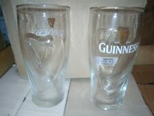 6 verres bière Guinness lyre 25cl