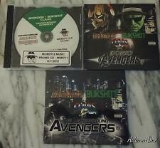 THE UNDERGROUND AVENGERS EP 3 CD COLLECTION BUKSHOT BOONDOX CLAAS MOBSTYLE MUSIC