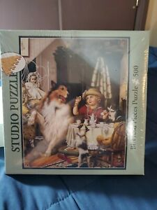 Studio Puzzle Bits And Pieces One Lump Or Two Jigsaw Puzzle NEW 500 Pc. Sealed