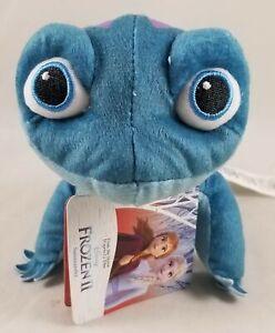 "Disney Store Salamander Frozen 2 Mini Bean Bag Plush Toy Doll 4 1/2''H X 10""L"