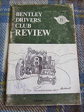 BENTLEY DRIVERS CLUB REVIEW AUG 1975 #117 CORNICHE REQUIEM CORNISH RIVIERA GHENT