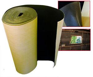 10 x 1 m Self Adhesive Thermal Acoustic XPE Foam Insulation caravan camper van