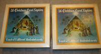 66 Vintage Christmas Carol Paper Luncheon Napkins 6 Designs Silent NIght Angels
